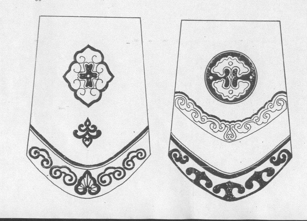 黑白蒙古图案 ,花纹1(25张) 第7张