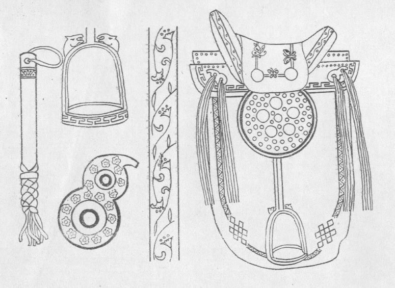 黑白蒙古图案 ,花纹1(25张) 第20张