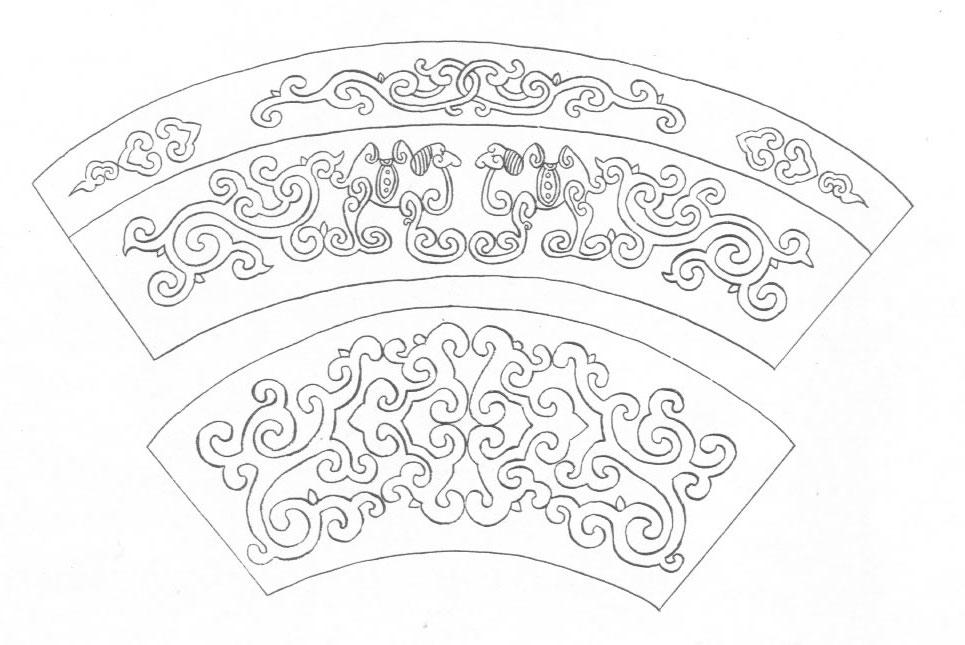黑白蒙古图案 ,花纹1(25张) 第18张