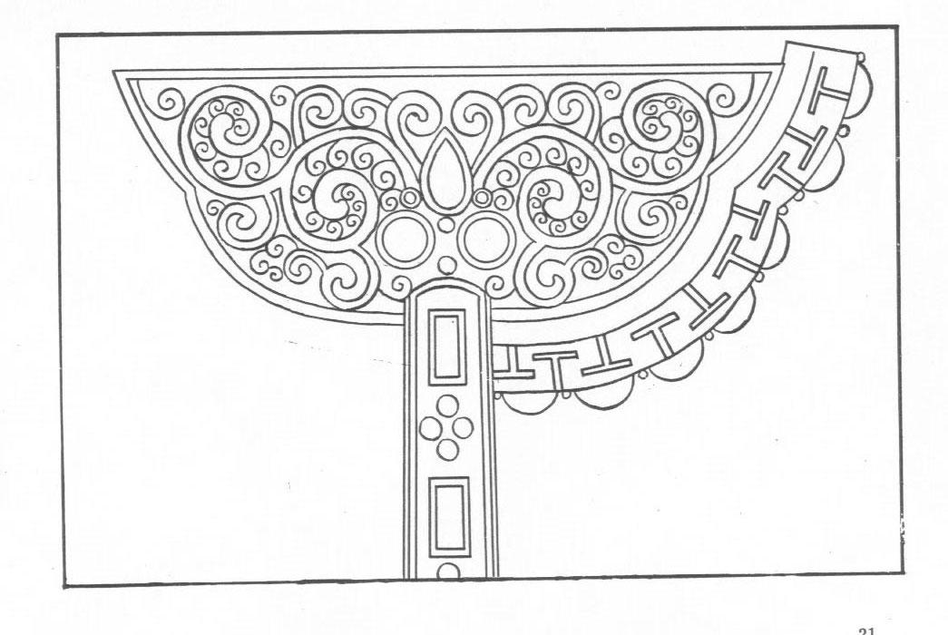 黑白蒙古图案 ,花纹1(25张) 第19张