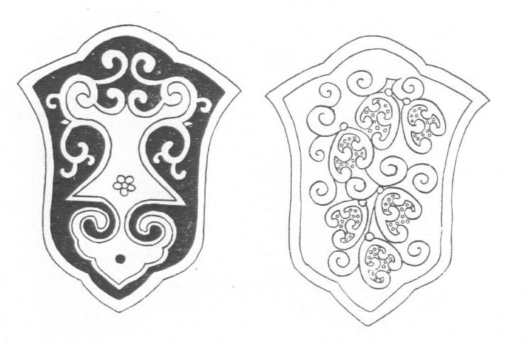 黑白蒙古图案 ,花纹1(25张) 第22张