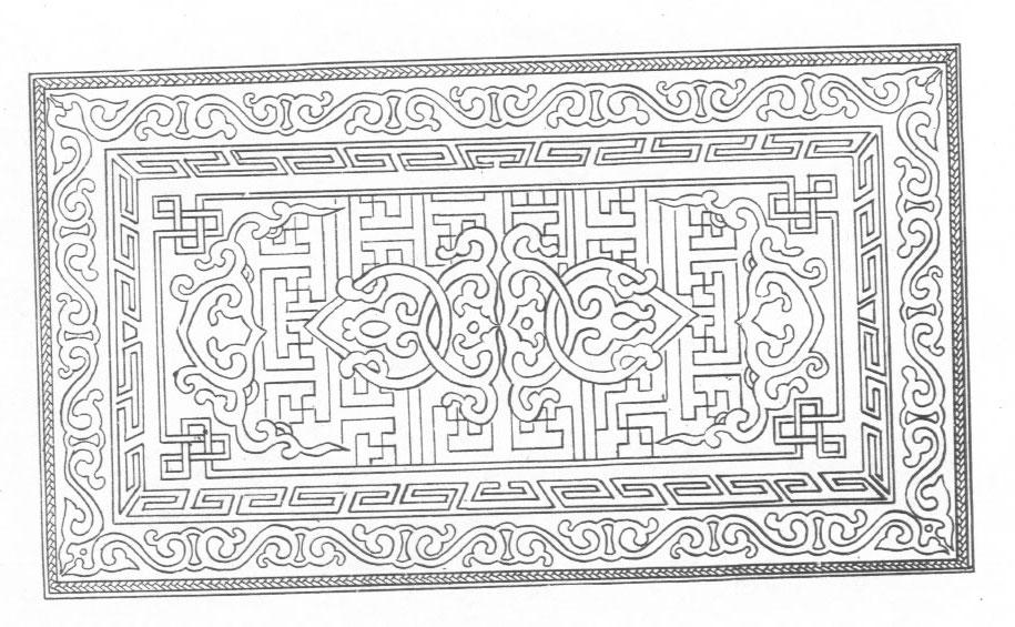 黑白蒙古图案 ,花纹2(25张) 第3张