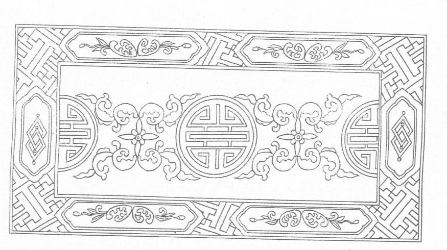 黑白蒙古图案 ,花纹2(25张) 第7张