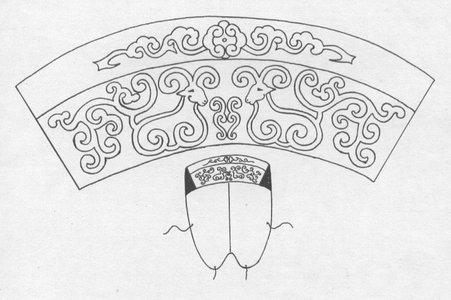 黑白蒙古图案 ,花纹2(25张) 第14张
