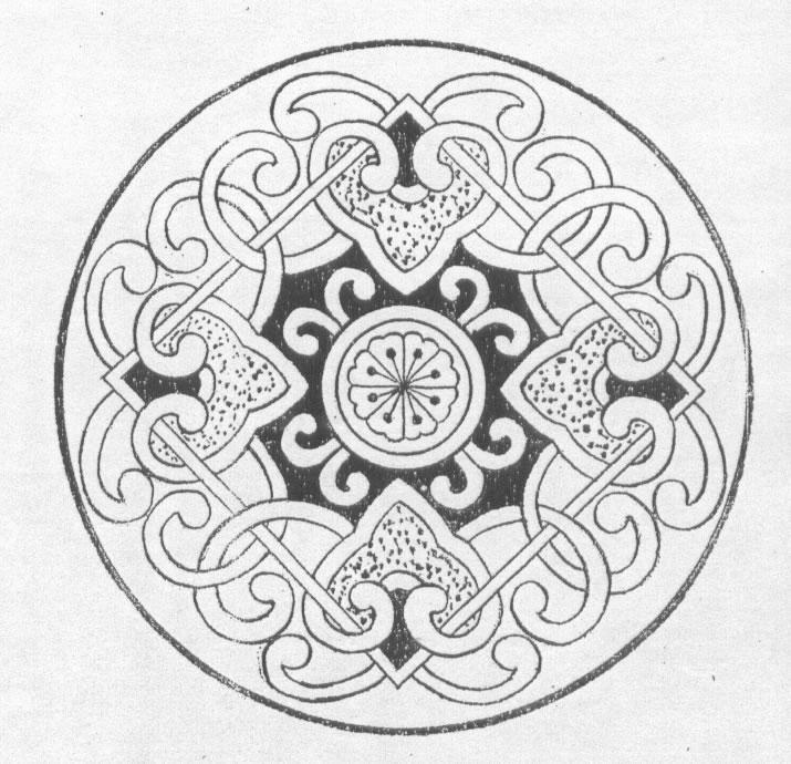 黑白蒙古图案 ,花纹2(25张) 第5张