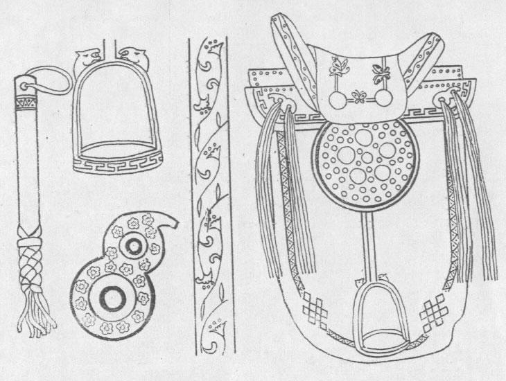 黑白蒙古图案 ,花纹2(25张) 第12张