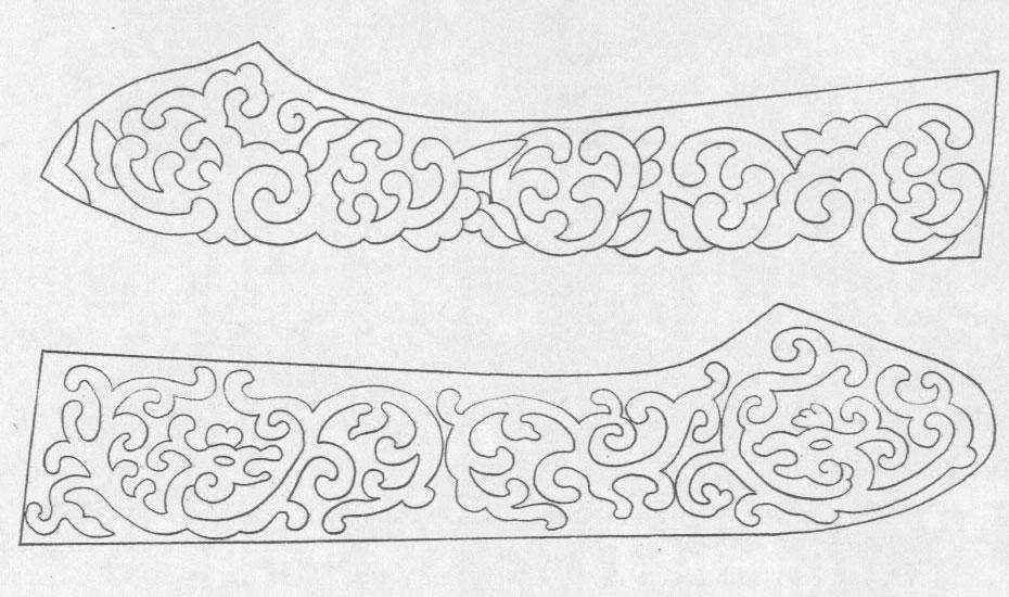 黑白蒙古图案 ,花纹2(25张) 第11张
