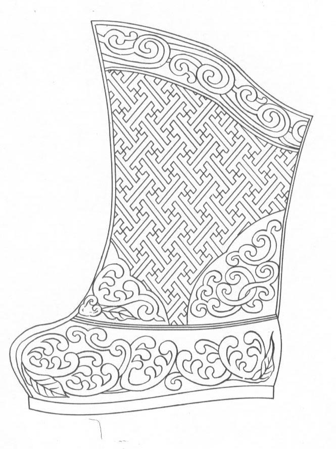 黑白蒙古图案 ,花纹2(25张) 第19张