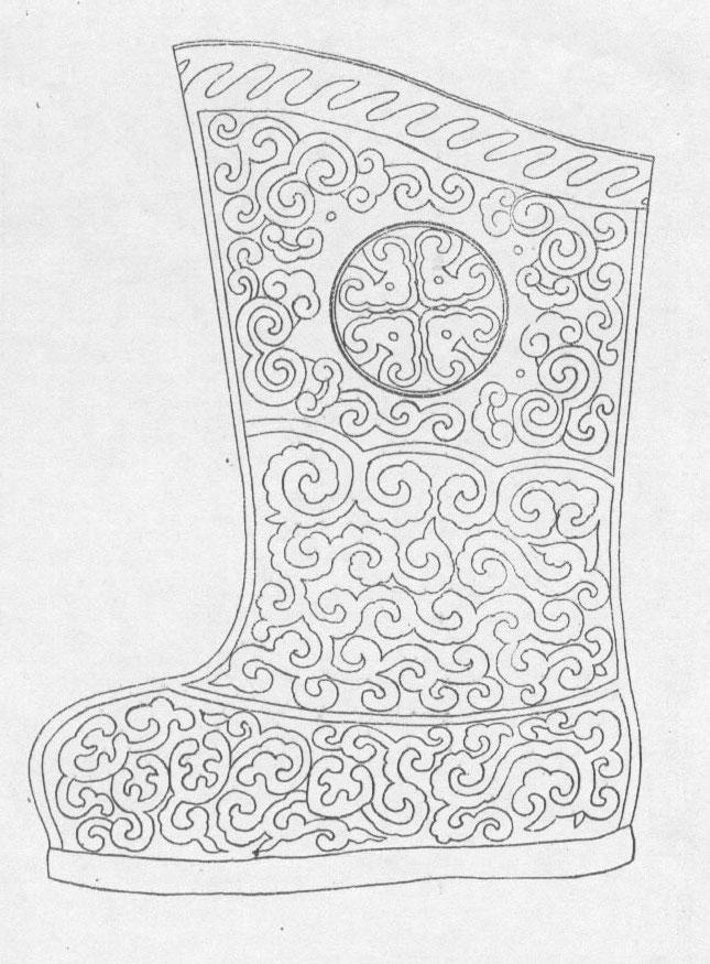 黑白蒙古图案 ,花纹2(25张) 第22张