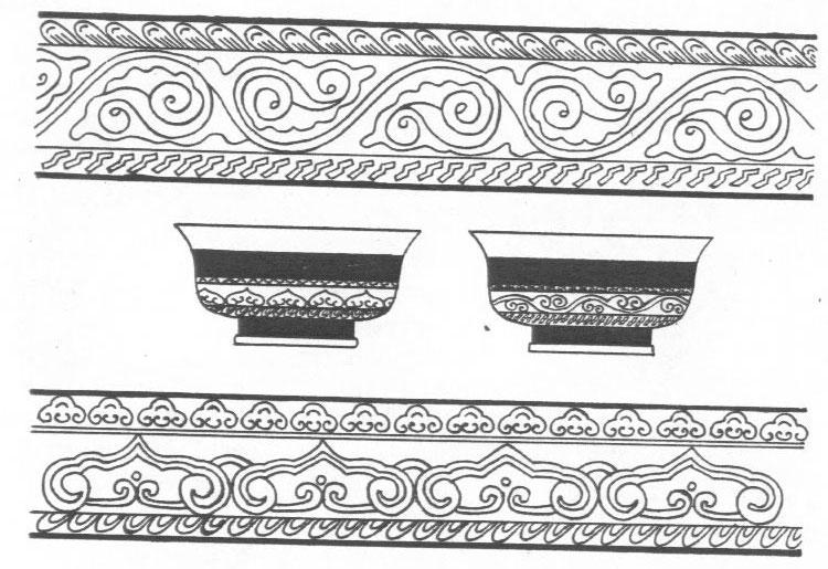 黑白蒙古图案 ,花纹2(25张) 第18张