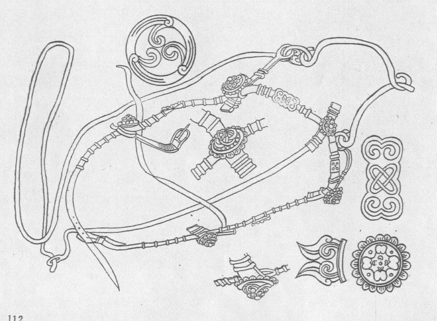 黑白蒙古图案 ,花纹3(20张) 第1张