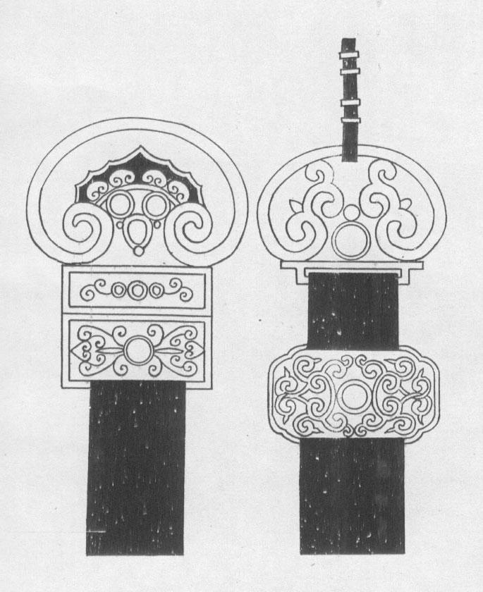 黑白蒙古图案 ,花纹3(20张) 第3张