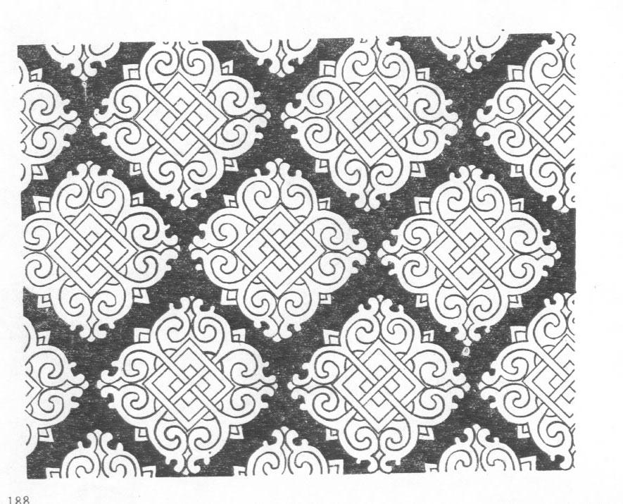 黑白蒙古图案 ,花纹3(20张) 第7张