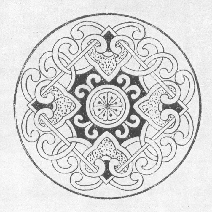 黑白蒙古图案 ,花纹3(20张) 第18张