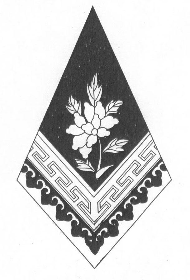 黑白蒙古图案 ,花纹3(20张) 第15张