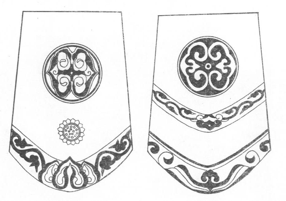 黑白蒙古图案 ,花纹3(20张) 第16张