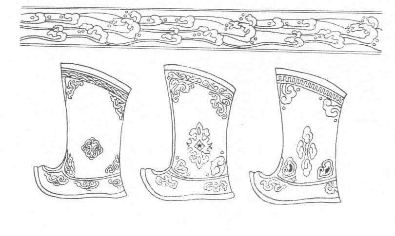 黑白蒙古图案 ,花纹3(20张) 第17张