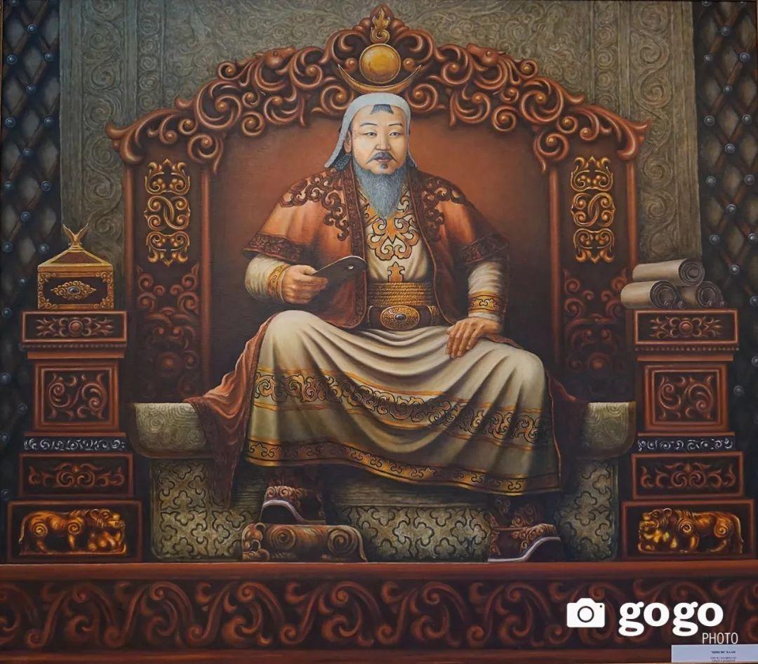 蒙古举行的成吉思汗文化展