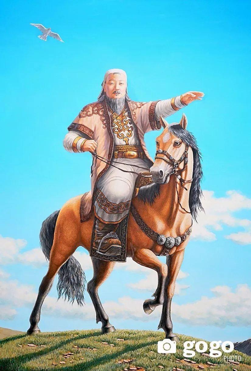 蒙古举行的成吉思汗文化展 第17张