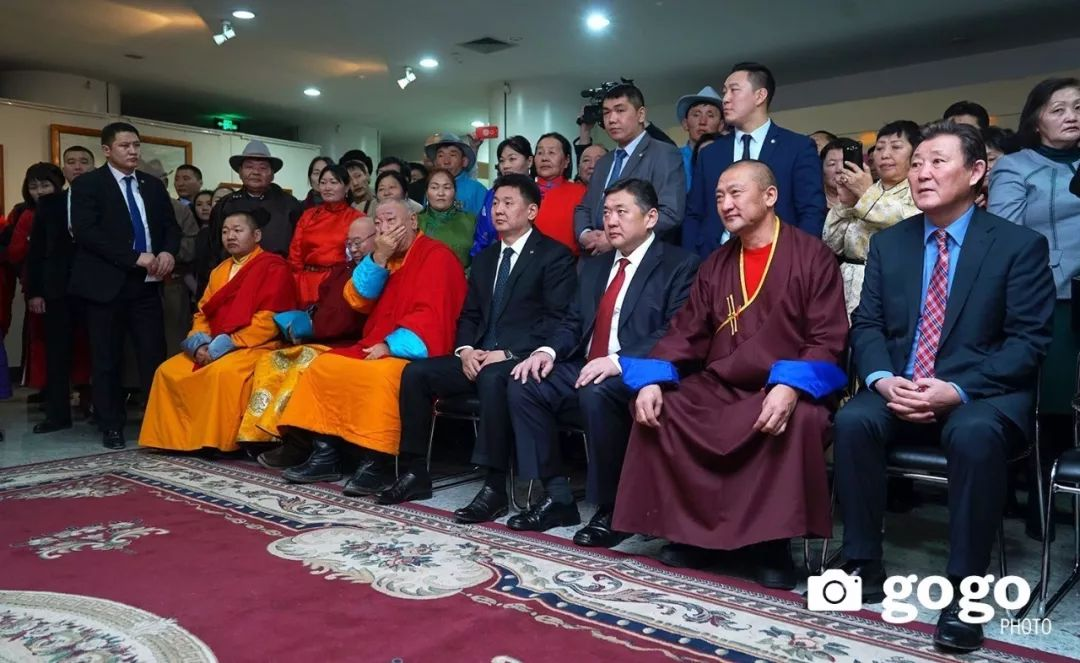蒙古举办了唐卡文化展览会 第1张