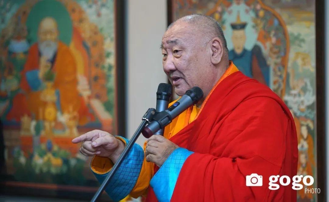 蒙古举办了唐卡文化展览会 第2张