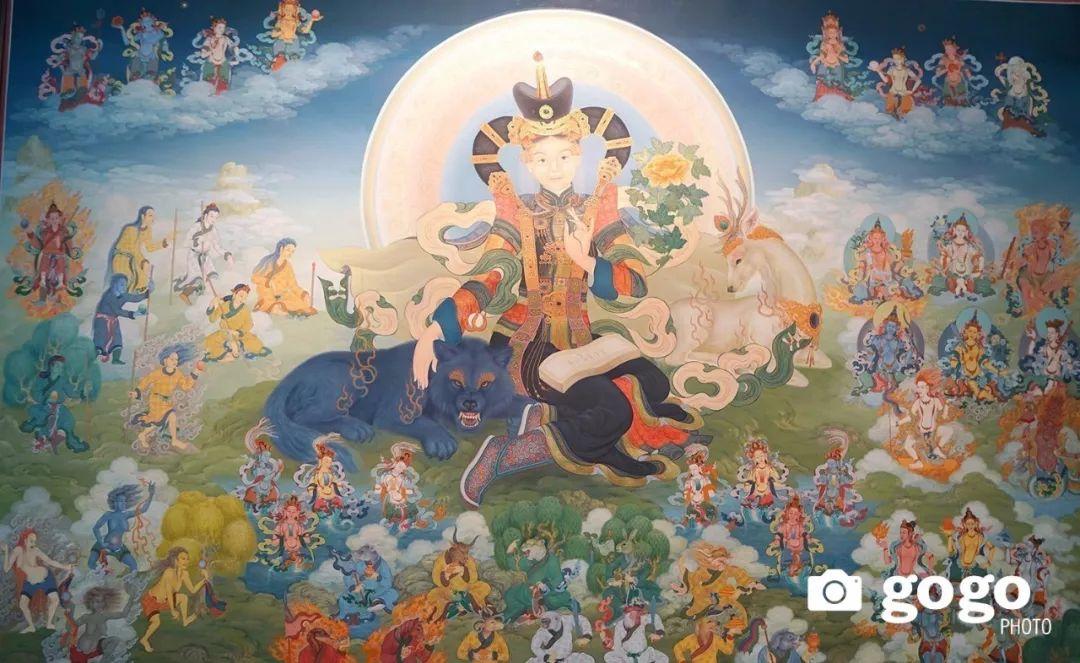 蒙古举办了唐卡文化展览会 第4张
