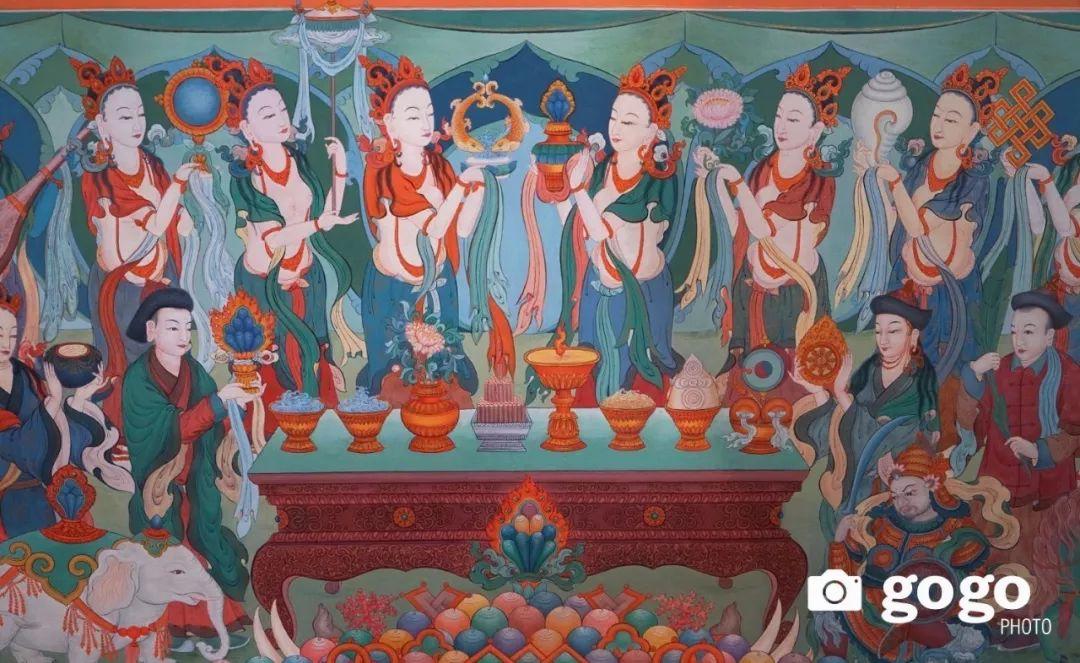 蒙古举办了唐卡文化展览会 第7张