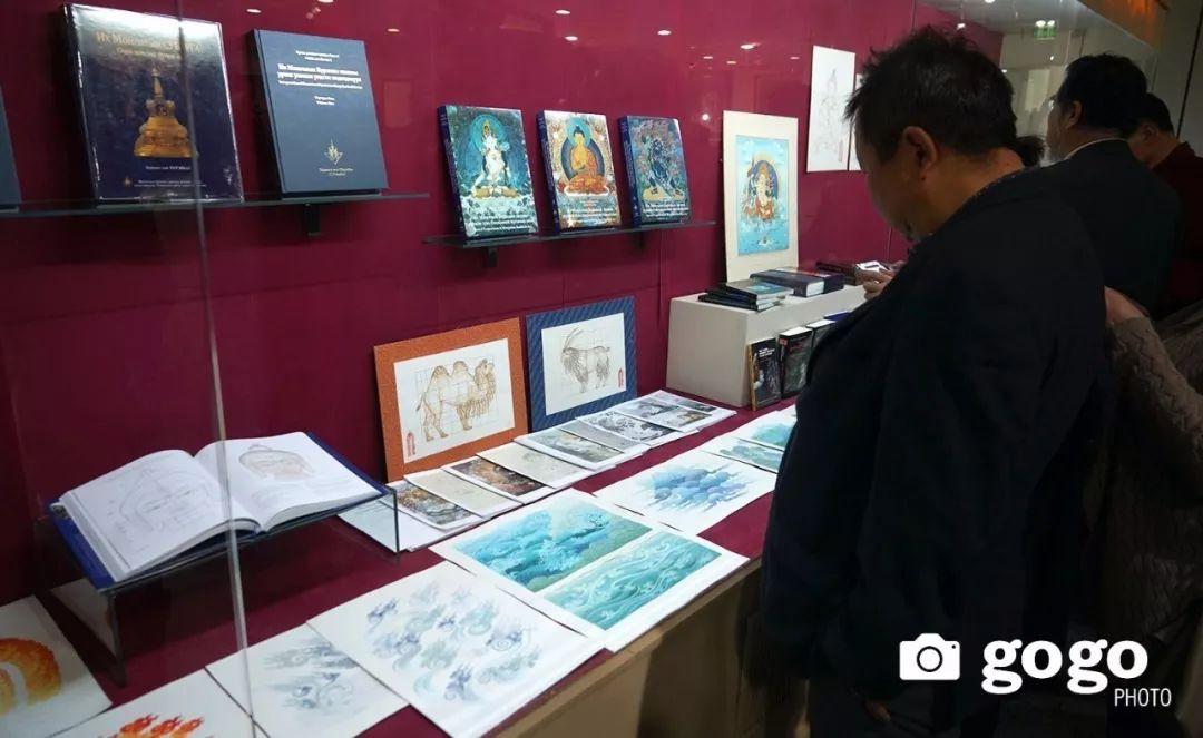 蒙古举办了唐卡文化展览会 第6张