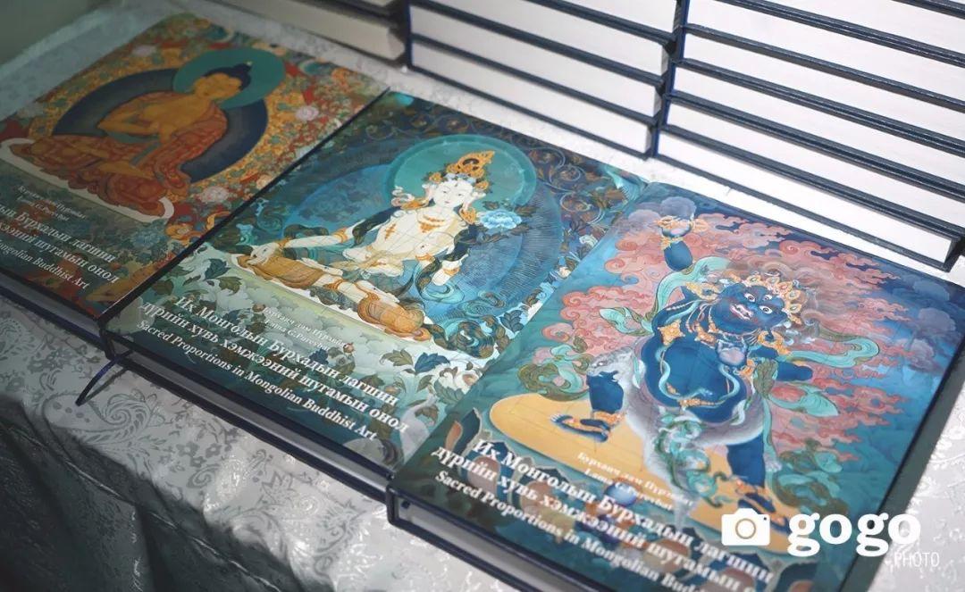 蒙古举办了唐卡文化展览会 第10张