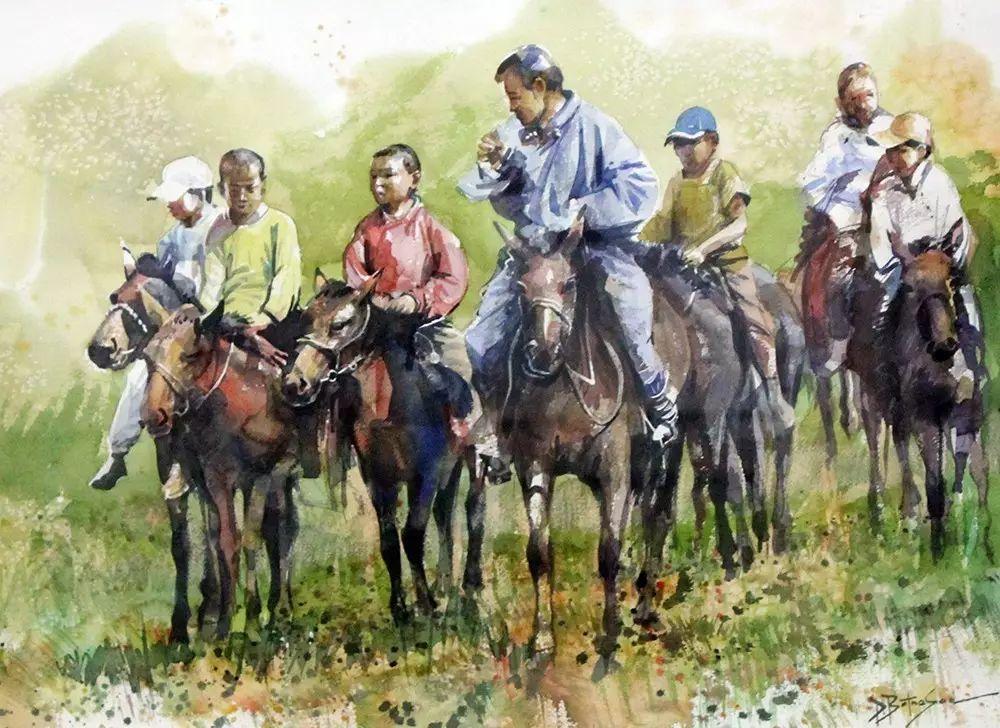 美丽盛开的原野——蒙古国作品赏析(一) 第4张