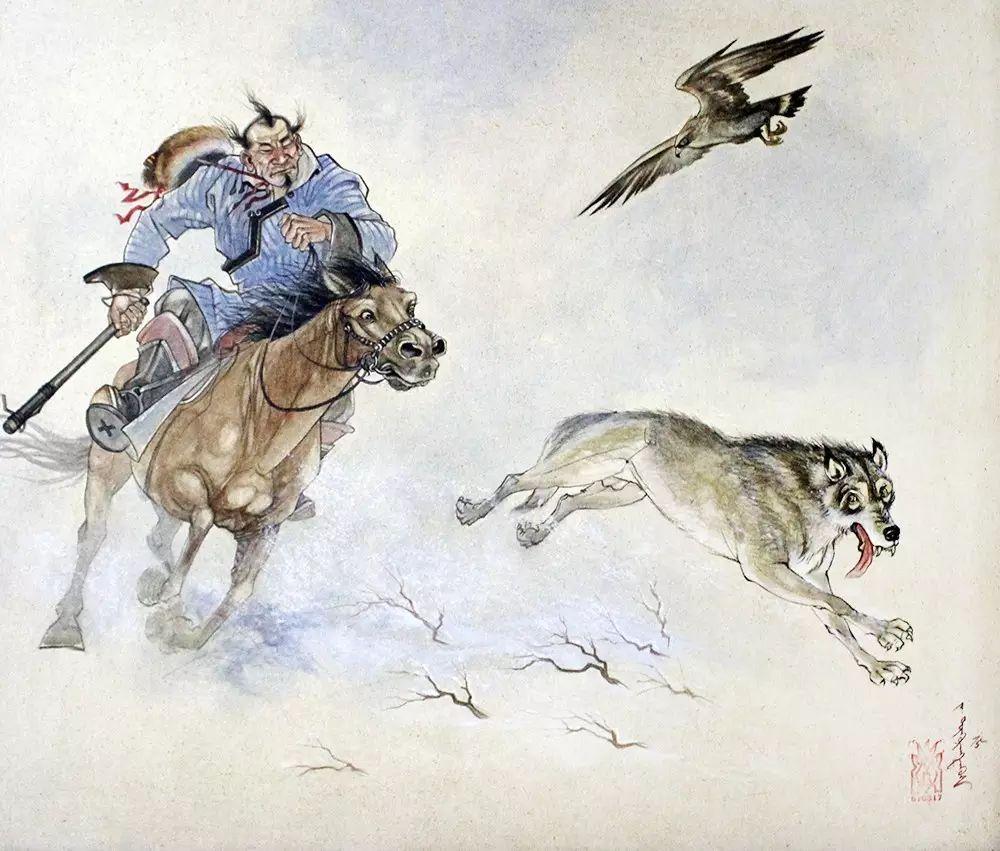 美丽盛开的原野——蒙古国作品赏析(一) 第6张