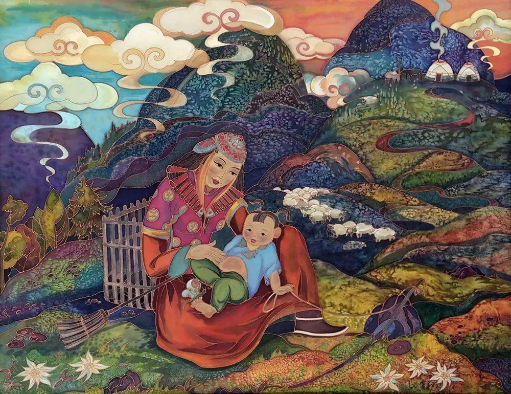 蒙古国作品欣赏 I 第3张