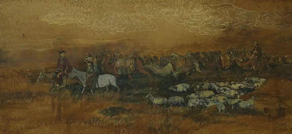 蒙古国作品欣赏 I 第8张