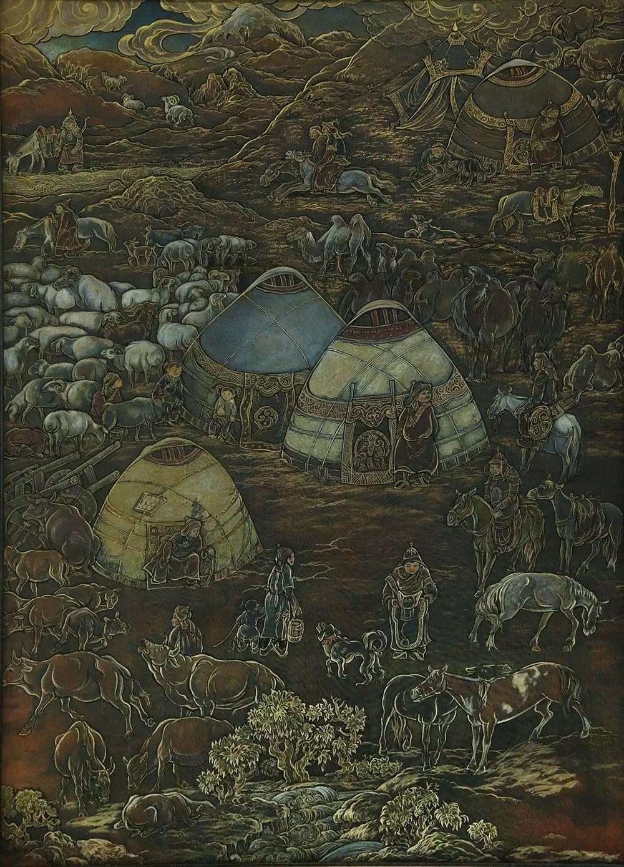 蒙古国作品欣赏 I 第9张