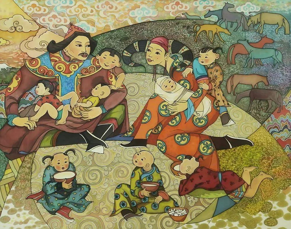 蒙古国作品欣赏 I 第13张