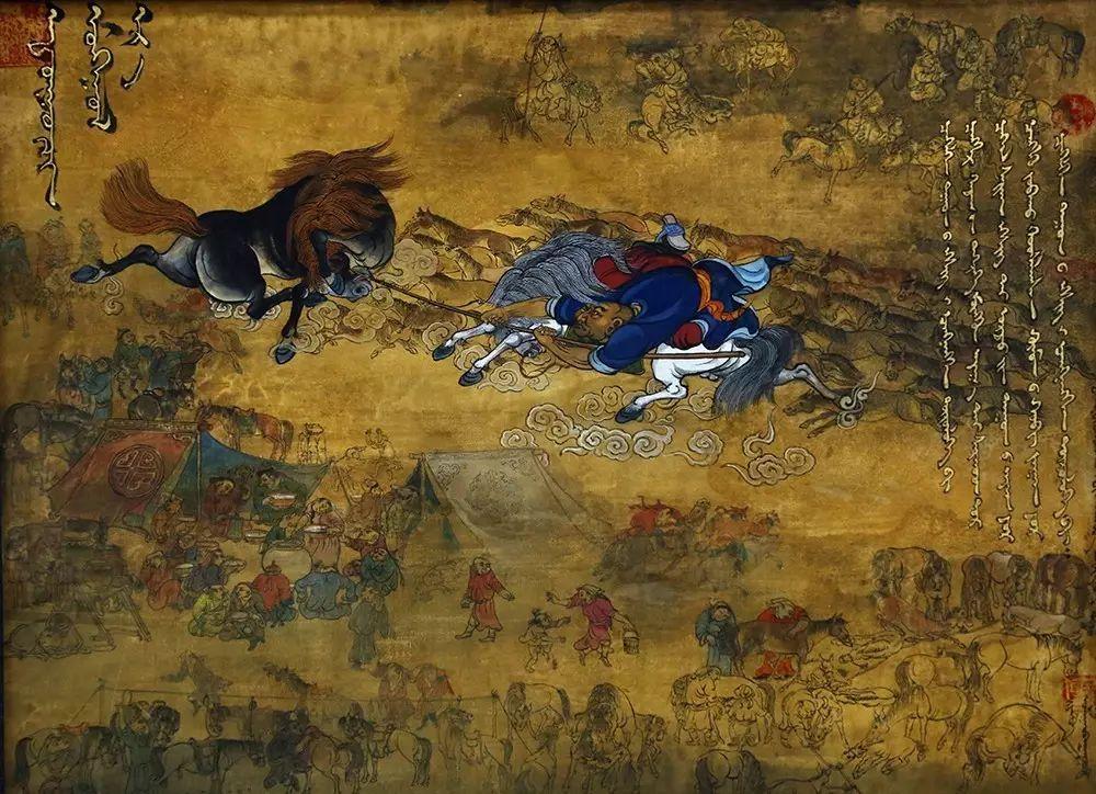 蒙古国作品欣赏 I 第14张