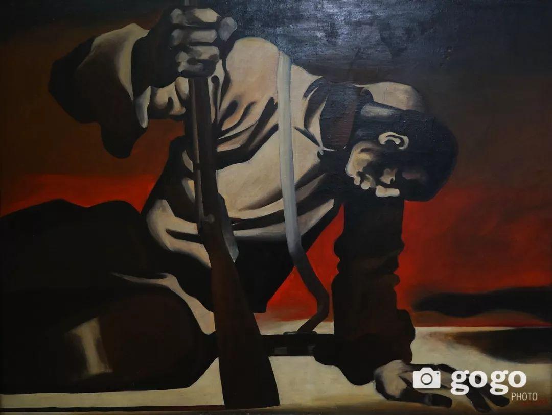 蒙古国经典油画作品欣赏,时代的记忆 第3张