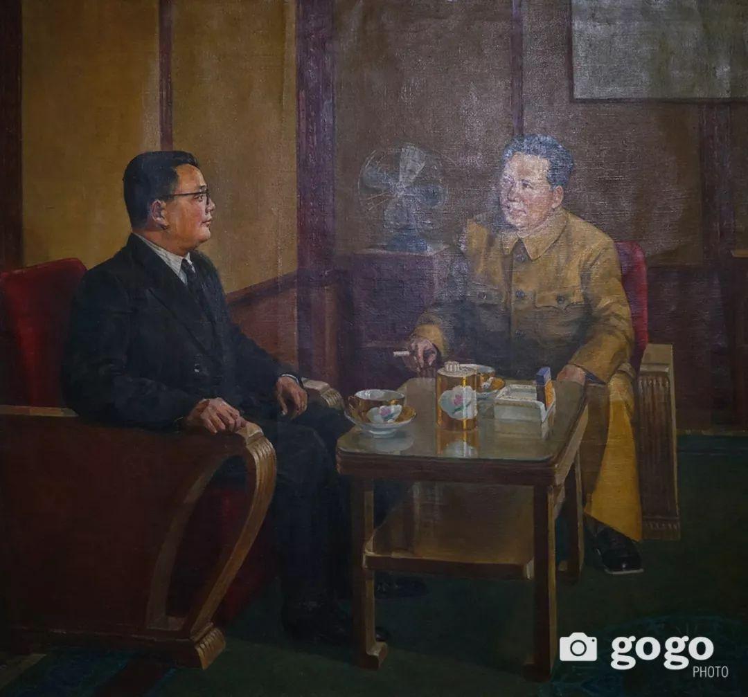 蒙古国经典油画作品欣赏,时代的记忆 第6张