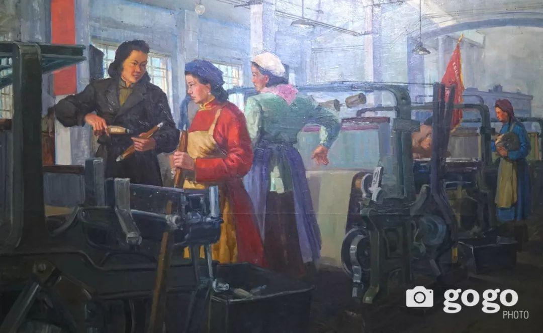 蒙古国经典油画作品欣赏,时代的记忆 第10张