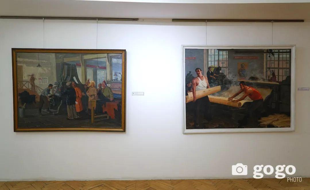 蒙古国经典油画作品欣赏,时代的记忆 第14张