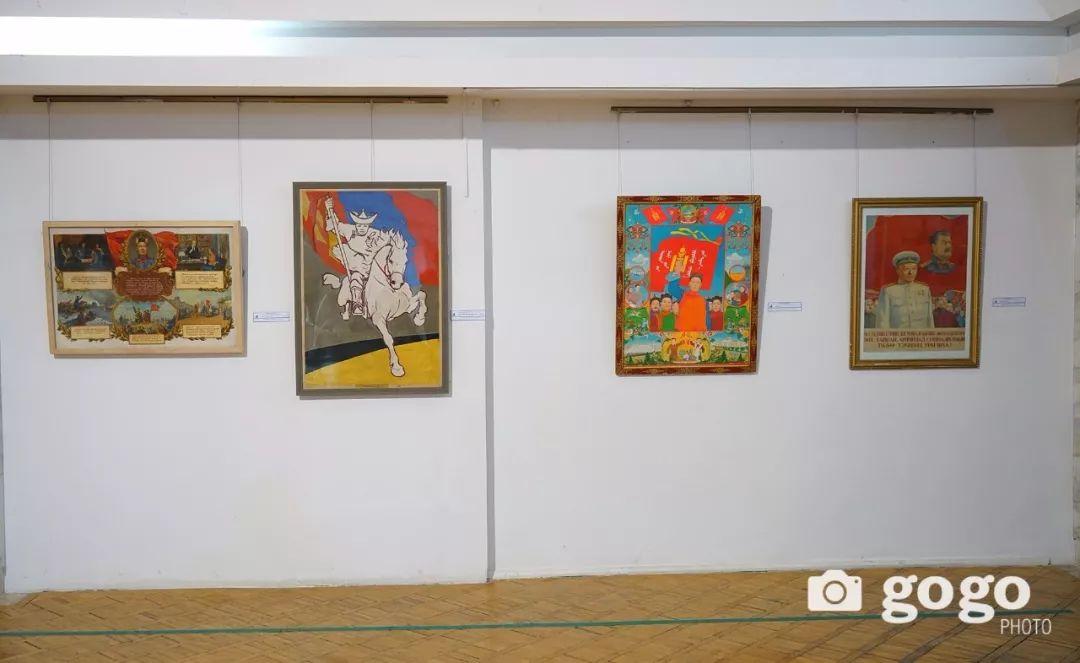 蒙古国经典油画作品欣赏,时代的记忆 第18张