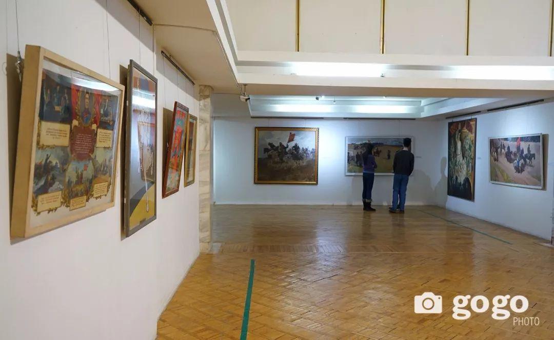 蒙古国经典油画作品欣赏,时代的记忆 第19张
