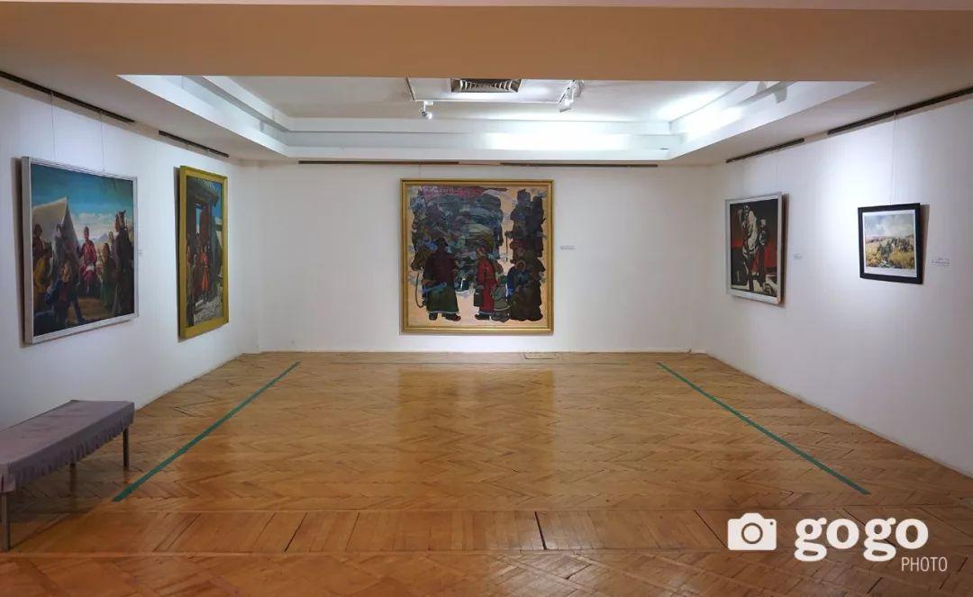 蒙古国经典油画作品欣赏,时代的记忆 第23张