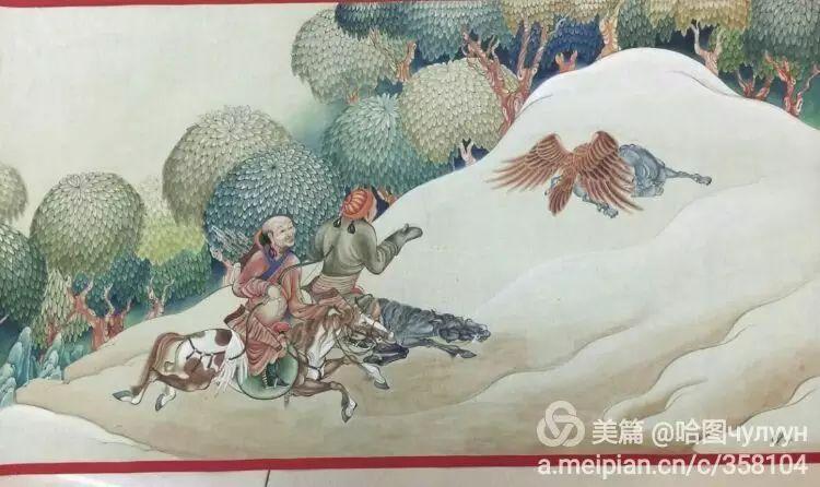 蒙古国90后天才画家普日布苏仁作品展示 第18张