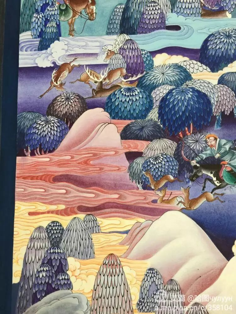 蒙古国90后天才画家普日布苏仁作品展示 第21张