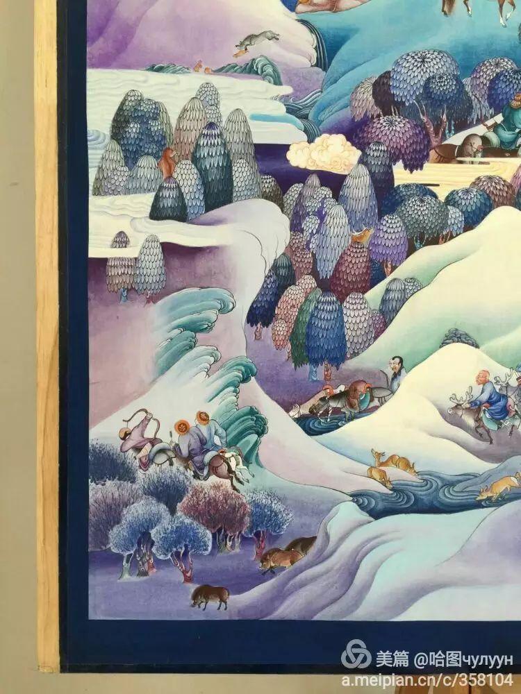 蒙古国90后天才画家普日布苏仁作品展示 第20张