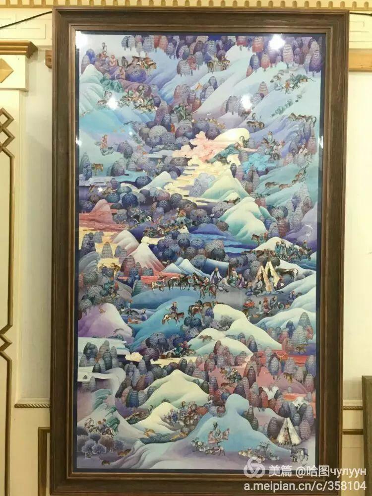 蒙古国90后天才画家普日布苏仁作品展示 第26张