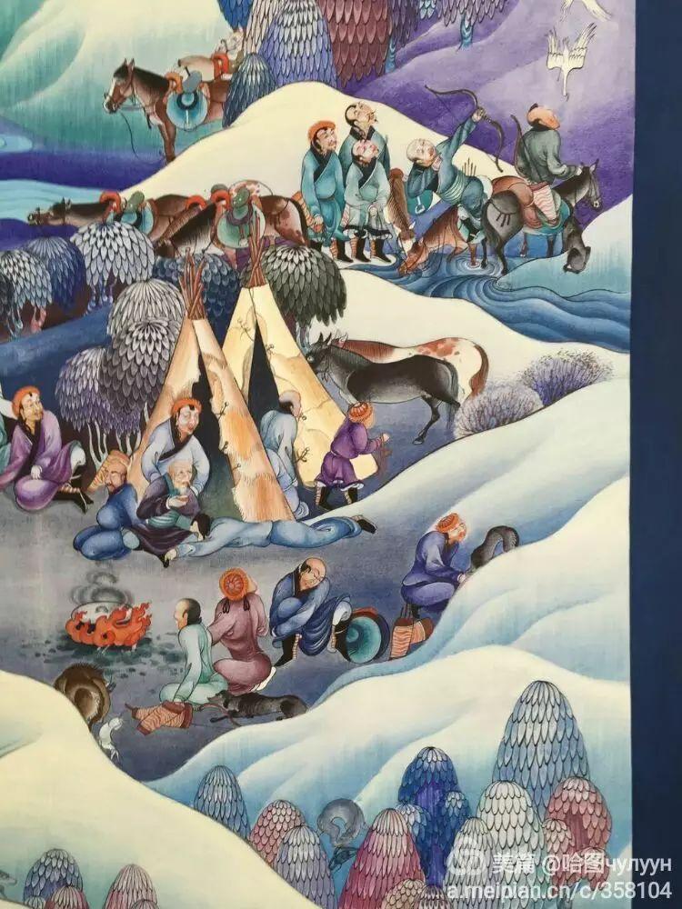 蒙古国90后天才画家普日布苏仁作品展示 第23张