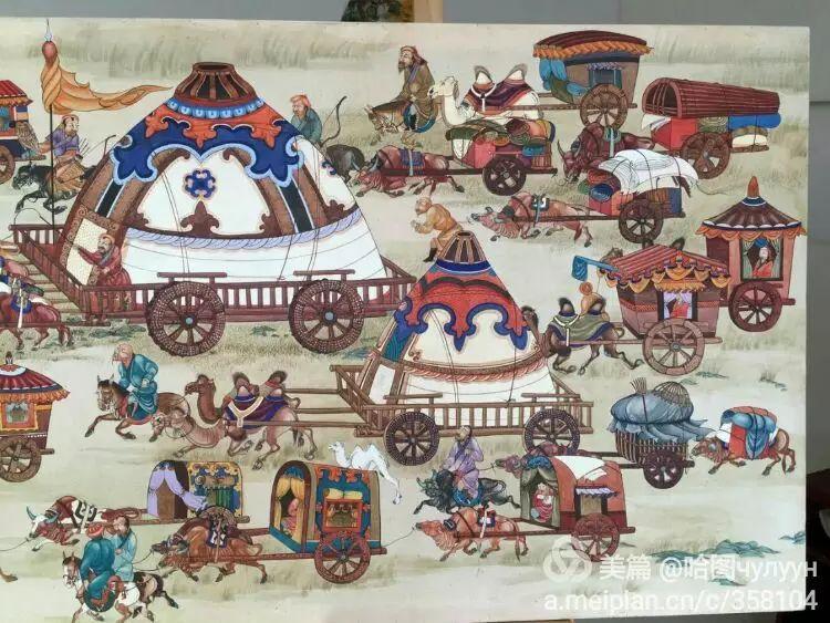 蒙古国90后天才画家普日布苏仁作品展示 第27张