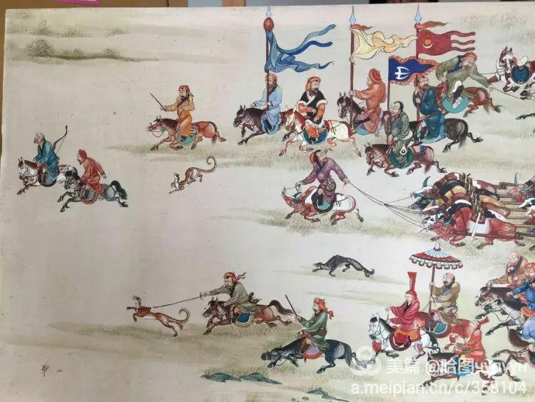 蒙古国90后天才画家普日布苏仁作品展示 第29张